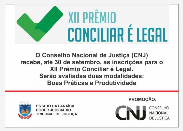 XII Prêmio Conciliar é Legal