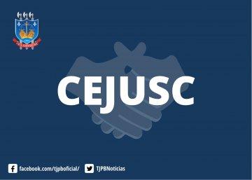 Imagem da logo do CEJUSC