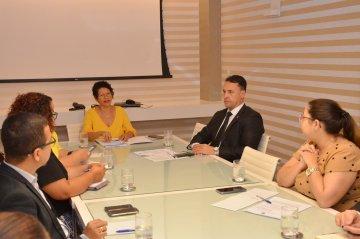 Reunião no TJPB discute efetivação do 'Escritório Social' e cidadania para egressos do sistema prisional / Fotos: Ednaldo Araújo / TJPB