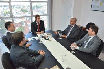 Presidente do TJPB e secretário de Administração Penitenciária do Estado tratam sobre sistema prisional / Fotos: Ednaldo Araújo / TJPB