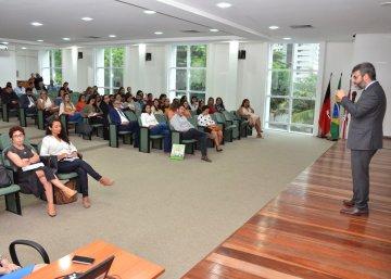 Justiça Restaurativa e cultura de paz são discutidas durante evento do TJPB na Esma nesta quinta (13)  / Fotos: Ednaldo Araújo