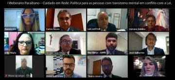 Webinário traz experiências de cuidado para pessoas com transtorno mental em conflito com a lei / Fotos: Ednaldo Araújo