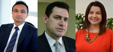 Juízes Ely Jorge, Fábio Araújo e Maria Aparecida Gadelha / Fotos: Ednaldo Araújo