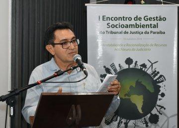 Cordelista e servidor do TJ, Vicente Campos.