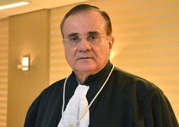 Foto do Presidente do Tribunal Justiça, Desembargador Saulo Benevides
