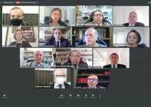 Captura de tela da Sessão Administrativa do Tribunal Pleno