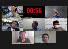 Captura de  tela da Audiência Publica sobre o Legal da Ciência e Tecnologia