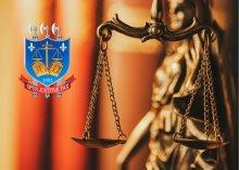Foto da balança, símbolo da Justiça