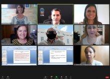 Imagem de reunião virtual sobre acessibilidade