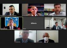 Foto da reunião da comissão do Projeto Acesso Seguro