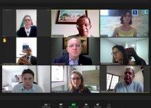 Foto da reunião do Comitê de Priorização do 1º Grau