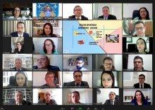Foto da apresentação de projetos da Corregedoria a magistrados