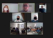 Foto do treinamento do Projeto Acesso Seguro na Esma