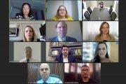 Captura de tela da reunião da Comissão do 2° Concurso para Serventias Extrajudiciais