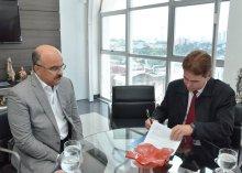 TJPB e CBN firmam convênio e consolidam projeto-piloto de programa de rádio do Judiciário / Fotos Ednaldo Araújo / TJPB