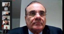 Foto do Desembargador Saulo Benevides, Presidente do Tribunal de Justiça